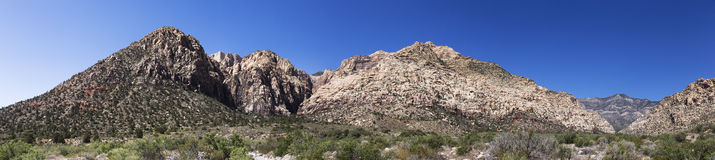 Red Rock Canyons Panorama Stock Photography