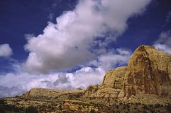 Red rock in Capitol Reef National Park, Utah Stock Image