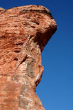 Red rock cliff Royalty Free Stock Image