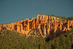 Red Rock Cliffs Stock Image