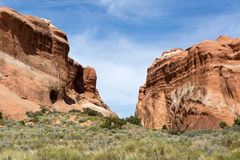 Red rock cliffs Royalty Free Stock Photography