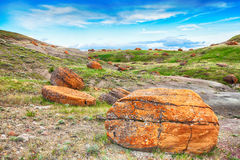 Red Rock Coulee Royalty Free Stock Photo