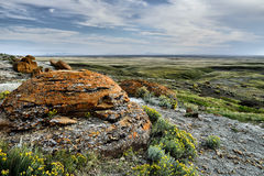 Red Rock Coulee Natural Area Royalty Free Stock Photo