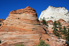 Red Rock Country. The beautiful rock formations of southern Utah Stock Image
