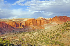 Red Rock Country Panorama Stock Photos