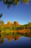 Red Rock Crossing. In Oak Creek Canyon, Arizona Royalty Free Stock Photography