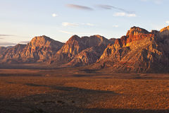 Red Rock Dawn Royalty Free Stock Photography