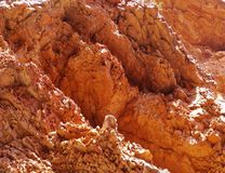 Red rock in Ellery creek big hole Royalty Free Stock Photos