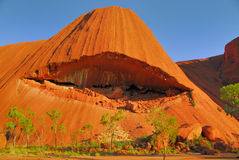 Red rock erosion. Stock Photo