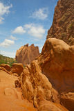 Red rock formation. At Garden of the Gods park in Colorado Springs, CO Royalty Free Stock Photos