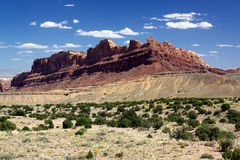 Red Rock Formation Stock Photography