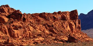 Red Rock Formation Royalty Free Stock Photography