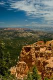 Red rock formation in bryce canyon park, utah Stock Photo