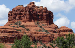 Red Rock Formation Royalty Free Stock Photo