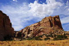 Red Rock formation near Capitol Reef National Park Stock Image
