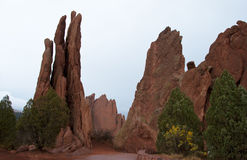 Red Rock Formations Royalty Free Stock Image