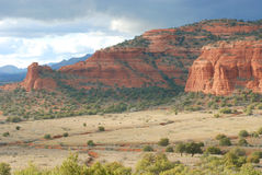 Red Rock Formations Stock Images