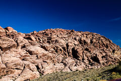 Red Rock Formations. Las Vegas, NV, USA - November 5, 2015: Rock formations and vista found at Red Rock Canyon National Conservation Area near Las Vegas, Nevada stock images