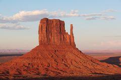 Red Rock Formations in Monument Valley stock images