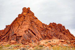 Red Rock Formations Stock Image