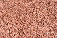 Red Rock Gravel Texture Royalty Free Stock Image