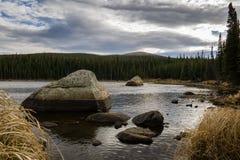 Red Rock Lake Stock Photos