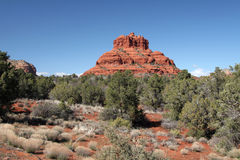 Red Rock Landscape in Sedona Arizona Royalty Free Stock Photography