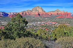 Red Rock Landscape in Sedona, Arizona, USA Stock Photography