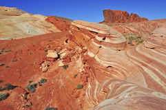 Red Rock Landscape, Southwest USA. The Stunning Red Rock Landscape, Southwest USA Stock Photos