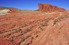Red Rock Landscape, Southwest USA. The Stunning Red Rock Landscape, Southwest USA Stock Images
