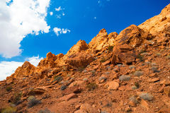 Red Rock Landscape, Valley of Fire State Park, Nevada, USA Stock Image