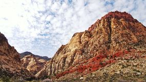 Red rock. Las Vegas nevada Stock Images
