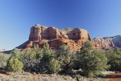 Red Rock Mountain, Sedona Arizona Royalty Free Stock Photo