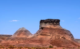Red rock mountains Royalty Free Stock Photo
