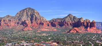 Red Rock mountains Stock Images