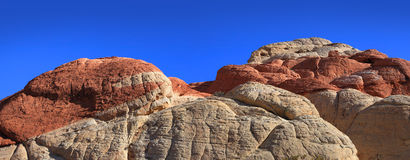 Red rock mountains Stock Image