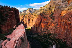 Red Rock Mountains in Zion National Park,Utah. United States Stock Photography