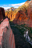 Red Rock Mountains in Zion National Park,Utah. United States Royalty Free Stock Images