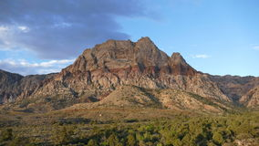 Red Rock National Conservation Area stock video footage