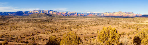 Red Rock Panorama Stock Image