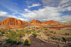 Red Rock Panorama Stock Photos