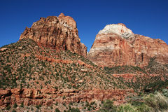 Red Rock Peaks. The beautiful red rock formations of southern Utah Stock Photography