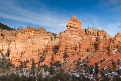 Red Rock Pillars Stock Photography