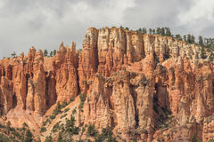 Red Rock Pinnacle Landscape Royalty Free Stock Photography