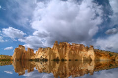 Red Rock Reflections Stock Image