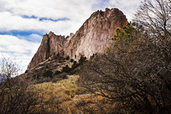 Red Rock. S in Garden of the Gods State Park in Colorado Springs Royalty Free Stock Photo