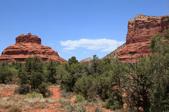 Red Rock Scenic Highway Stock Photo