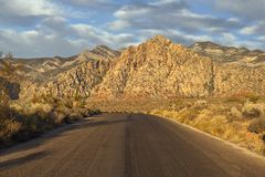 Red Rock Scenic Loop near Las Vegas Nevada Stock Photography