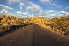 Red Rock Scenic Loop Road Nevada Stock Photos