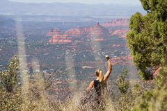 Red Rock, Sedona Arizona Royalty Free Stock Images